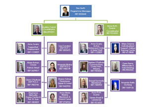 Day Services Organisation Chart